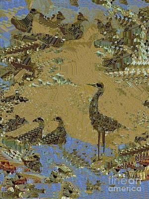 Digital Art - By The Pond by Nancy Kane Chapman