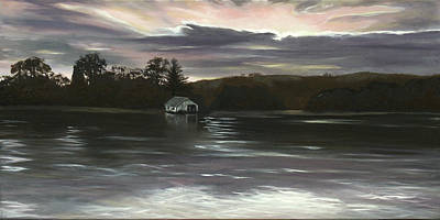 Painting - By The River by Elisabeth Dubois