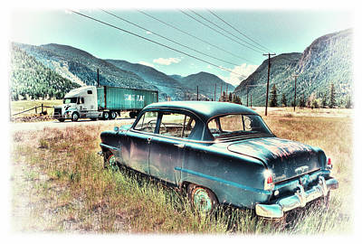 Photograph - By The Road by Doug Matthews
