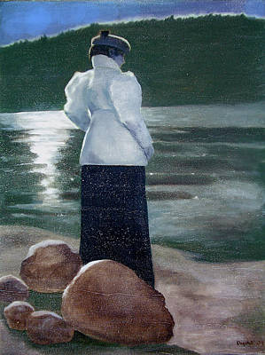 Painting - By The Sea by Kathryn Donatelli