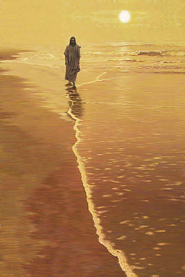 By The Sea Art Print by Larry Cole