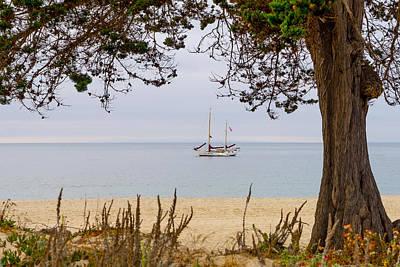 Photograph - By The Shore by Derek Dean
