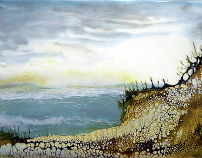 Painting - By The Shore by Jennifer Creech