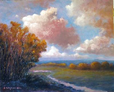 Painting - By The Snake River by Boris Garibyan
