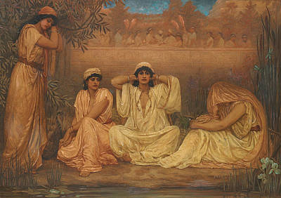 Iraq Painting - By The Waters Of Babylon They Sat Down And Wept by Kate Gardiner Hastings