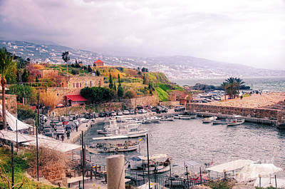Photograph - Byblos by Aperturez - Mohamed Hassouneh Photography