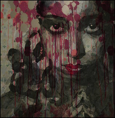 Gaze Painting - Bye Bye Blackbird by Paul Lovering