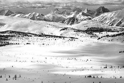 Photograph - Bye Bye Bowl Sunshine Views Black And White by Adam Jewell