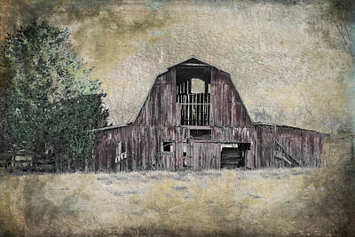 Photograph - Bygone Barn by Paula Ponath