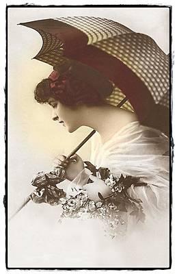 Bygone Beauty Art Print