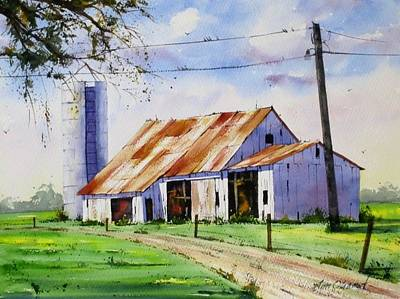 Oberst Painting - Bygone Days by Jim Oberst