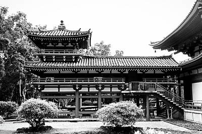 Photograph - Byodo-in Temple Oahu Study 3 by Robert Meyers-Lussier