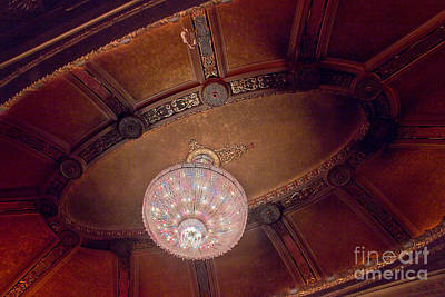 Photograph - Byrd Theater Chandelier by Jemmy Archer