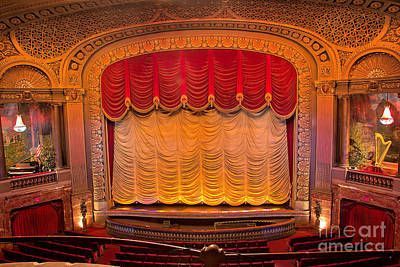 Photograph - Byrd Theater Stage by Jemmy Archer