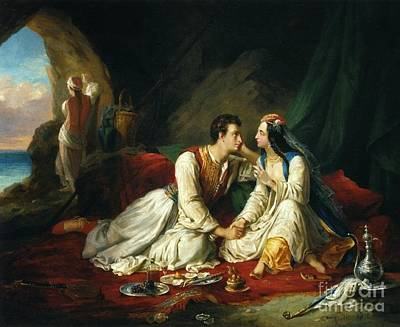Painting - Byron As Don Juan by Celestial Images