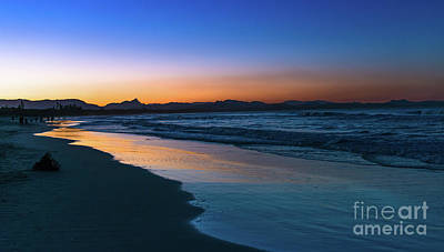 Photograph - Byron Bay After The Sun Sets by Andrew Michael