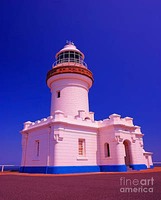 Byron Bay Photograph - Byron Bay Light House In Australis Most Easterly Point by Chris Smith