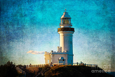 Photograph - Byron Bay Lighthouse by Stuart Row