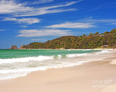 Byron Bay Photograph - Byron Bay Main Beach Australia by Chris Smith