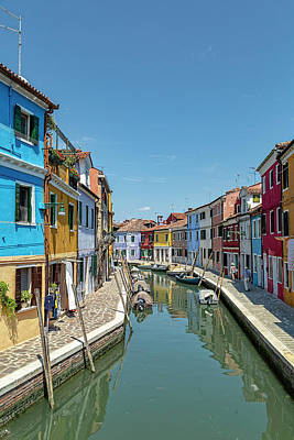 Photograph - Byways Of Burano by Kay Brewer
