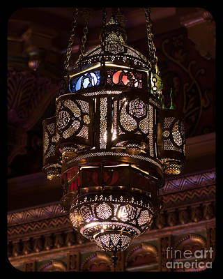 Photograph - Byzantine Lamp by Phil Spitze