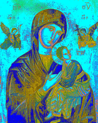 Byzantine Our Lady Of Perpetual Help Art Print