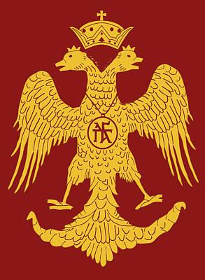 Painting - Byzantium - Roman Empire by Andrea Mazzocchetti