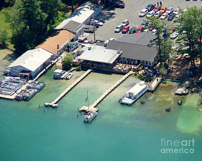 Photograph - C-029 Clearwater Harbor Bar Waupaca by Bill Lang