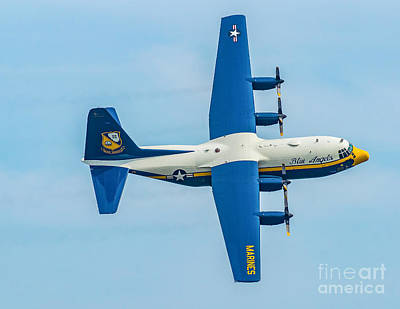 Photograph - C-130 Fat Albert by Nick Zelinsky