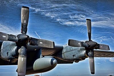 C-130 Wall Art - Photograph - C-130 Hdr by Sheri Bartoszek