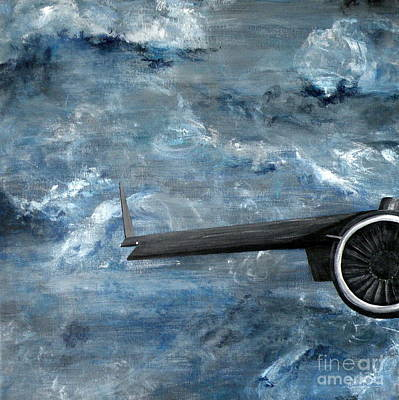 Painting - C-17 Globemaster IIi- Panel 1 by Holly York