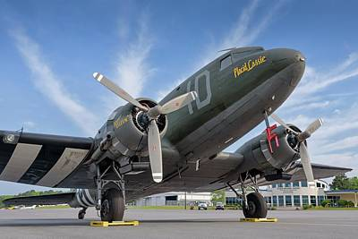 Photograph - C-47 by Chris Buff