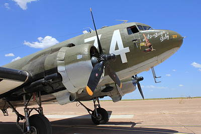 Photograph - C-47 by Christin Brodie