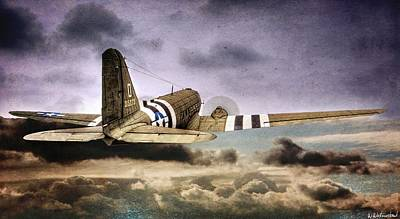 Photograph - C-47 Into The Storm by Weston Westmoreland
