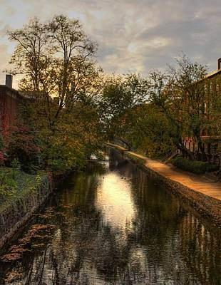 C And O Canal Art Print