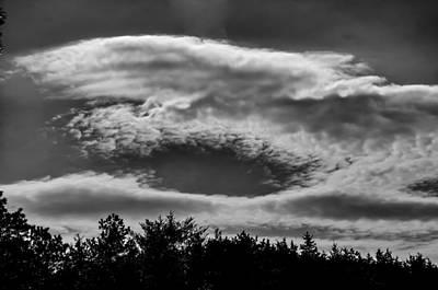 C Clouds Art Print by Louis Dallara