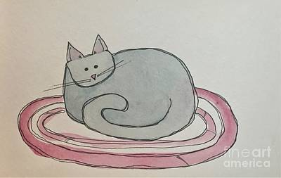 Painting - C Is For Cat by Tonya Henderson
