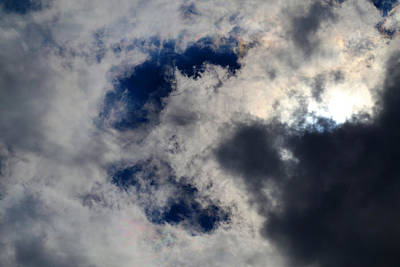Photograph - C Is For Cloud by Mary Bedy