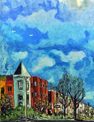 Painting - C St Ne by Dilip Sheth