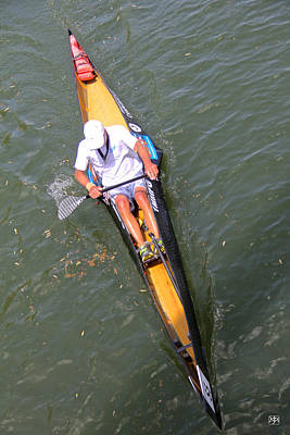 Photograph - C1 Canoe Racer by John Meader