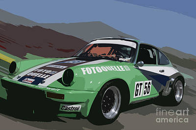 Porche Photograph - c10 by Tom Griffithe