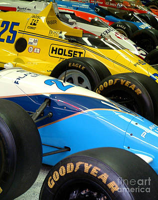 Indy Car Photograph - C129 by Tom Griffithe