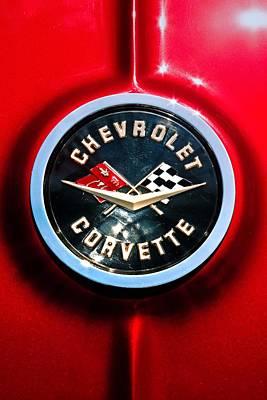 C2 Corvette Logo Art Print by Scott Wyatt