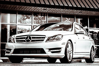 C250 In Black And White Art Print
