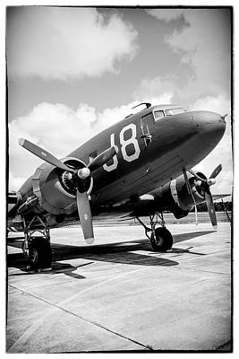 Photograph - C47 Number J8 by Chris Smith