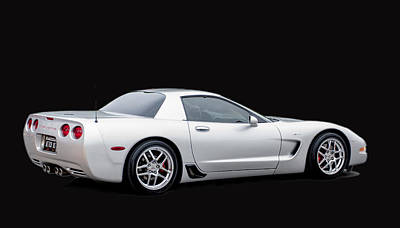 Photograph - C6 Corvette by Brian Kinney