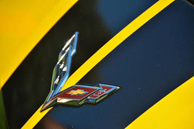 Photograph - C7 Bling by John Schneider
