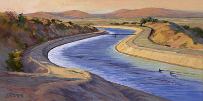 Painting - Ca Aqueduct 2 by Jane Thorpe