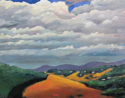 Ca Cloudscape Art Print
