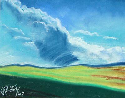 Pastel - Ca Plains by Michael Foltz